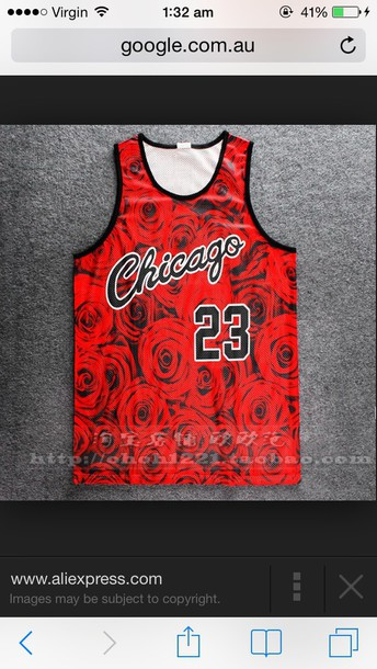 top roses jersey