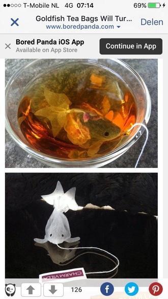 home accessory tea china teabag fish teabag