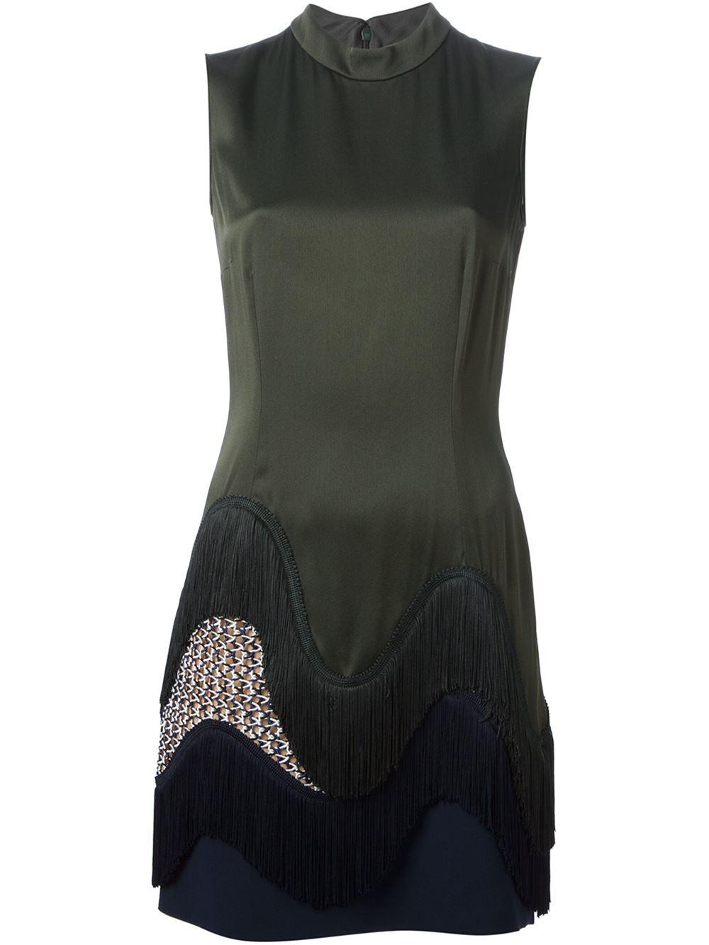 Stella mccartney fringe dress