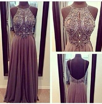 dress prom sequin beaded gown formal dress prom dress long prom dress beige