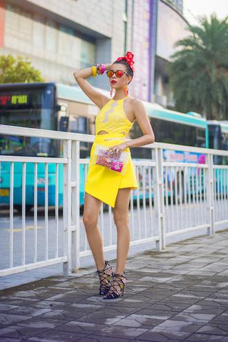 macademian girl blogger bag sunglasses jewels