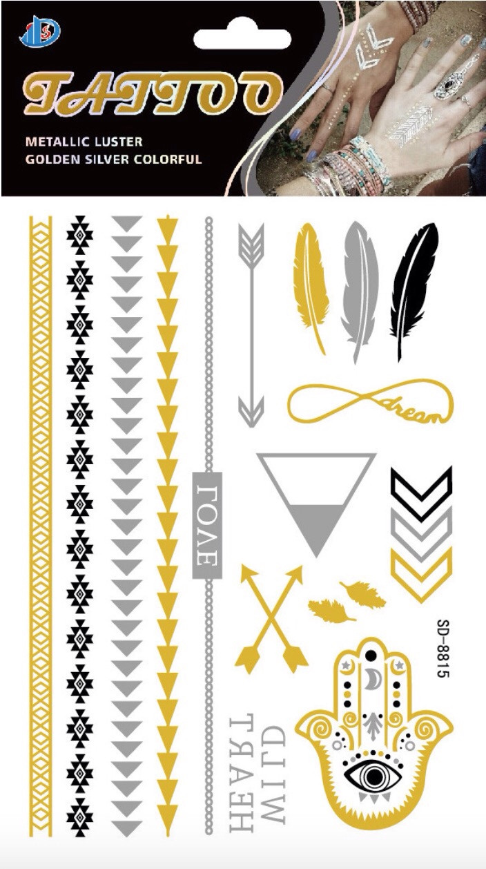 Metallic Temporary Tattoos – Shop Seasouth