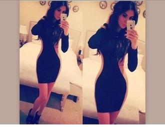 short slim dress