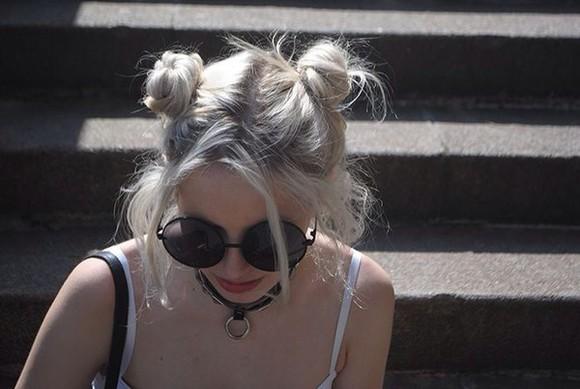 sunglasses round grunge 90s style