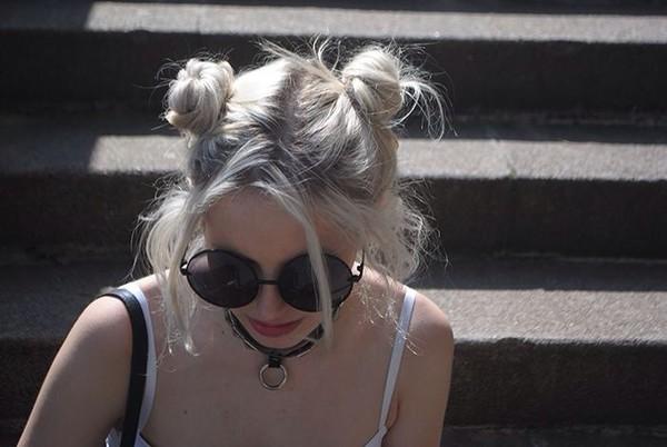 sunglasses round grunge 90s style sunnies