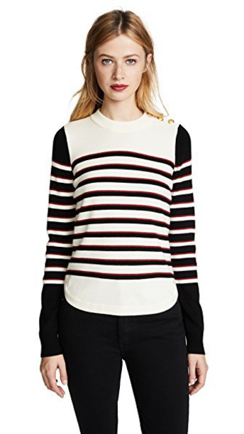 Veronica Beard Jean sweater red