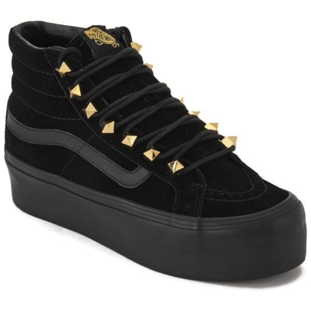 93198f1619 shoes vans studded platform shoes