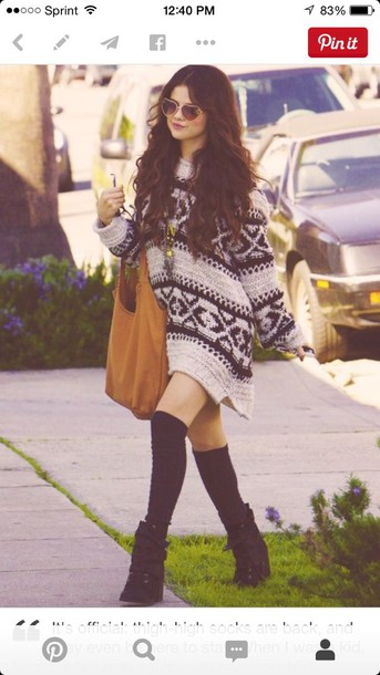 sweater oversized sweater dress selena gomez selena gomez sweater