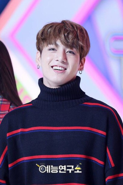 Sweater Mc Jungkook Mc Black Turtleneck Red Navy