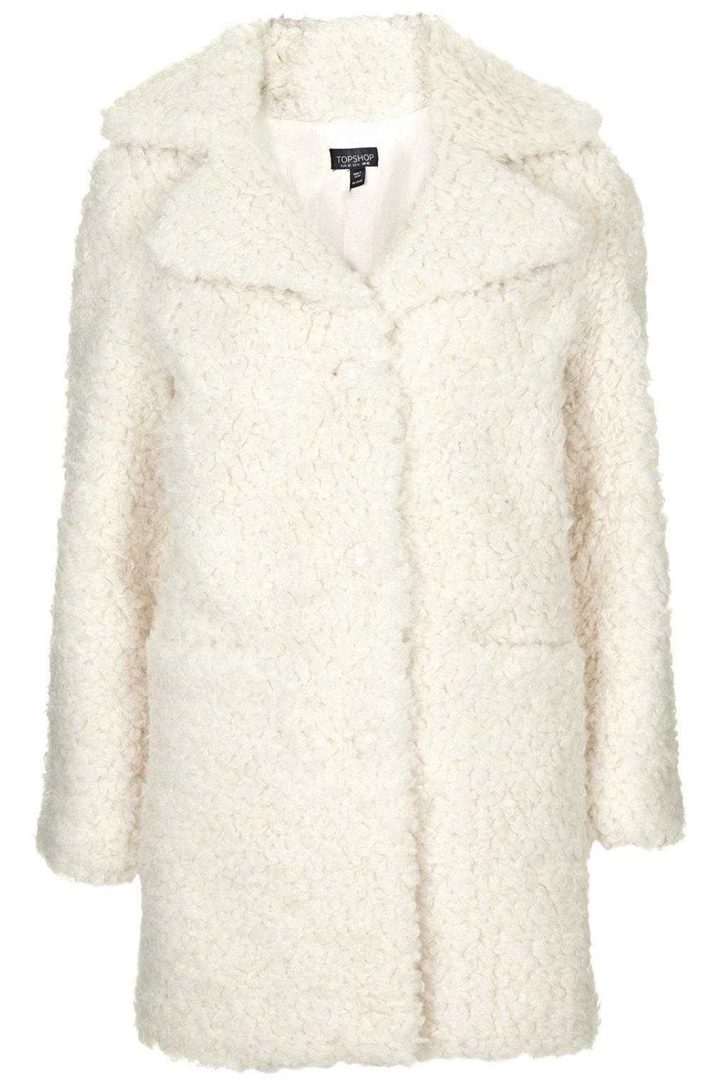 Fur Teddy Coat - Topshop
