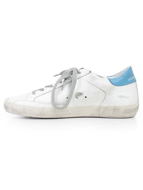 Golden goose sneakers blue shoes