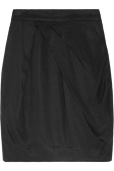 By Malene Birger Satin-twill skirt - 65% Off Now at THE OUTNET