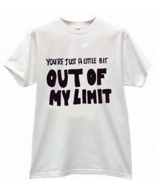 shirt out of my limit lyrics 5 seconds of summer