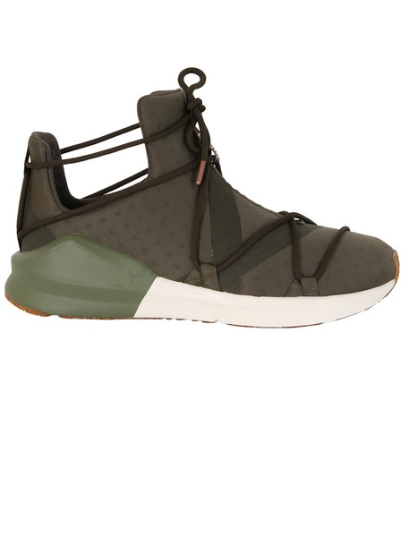 puma sneakers green shoes