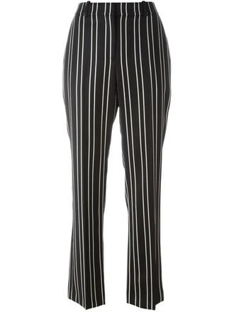 monochrome black pants