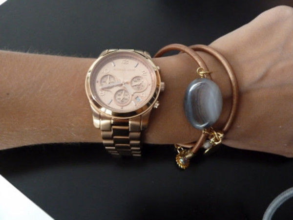boyfriend addition elle gold watches additionelle rose en watch