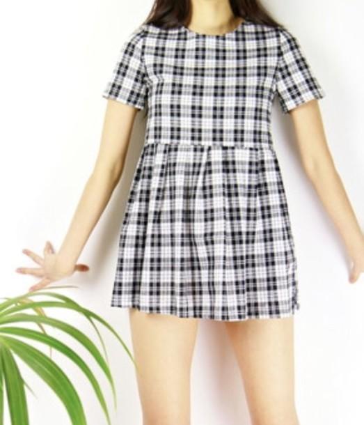 Dress Smock Dress Skater Dress Babydoll Dress