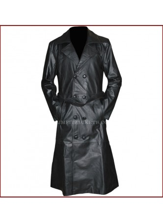 Buffy The Vampire Slayer Spike Trench Leather Coat Costume