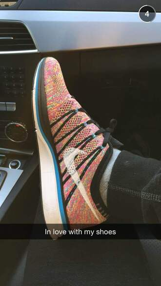 shoes multicolor sports shoes sneakers nike