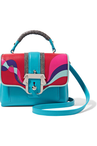 mini bag shoulder bag leather suede