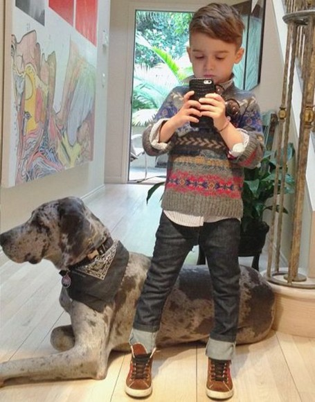 sweater dog jeans swag fashion boys toddler kids kids fashion