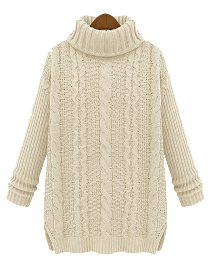 Olivia chunky knit sweater