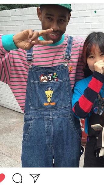 jeans tyler the creator blue cartoon anime