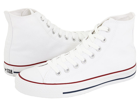 Converse Chuck Taylor® All Star® Core Hi Optical White - Zappos.com Free Shipping BOTH Ways