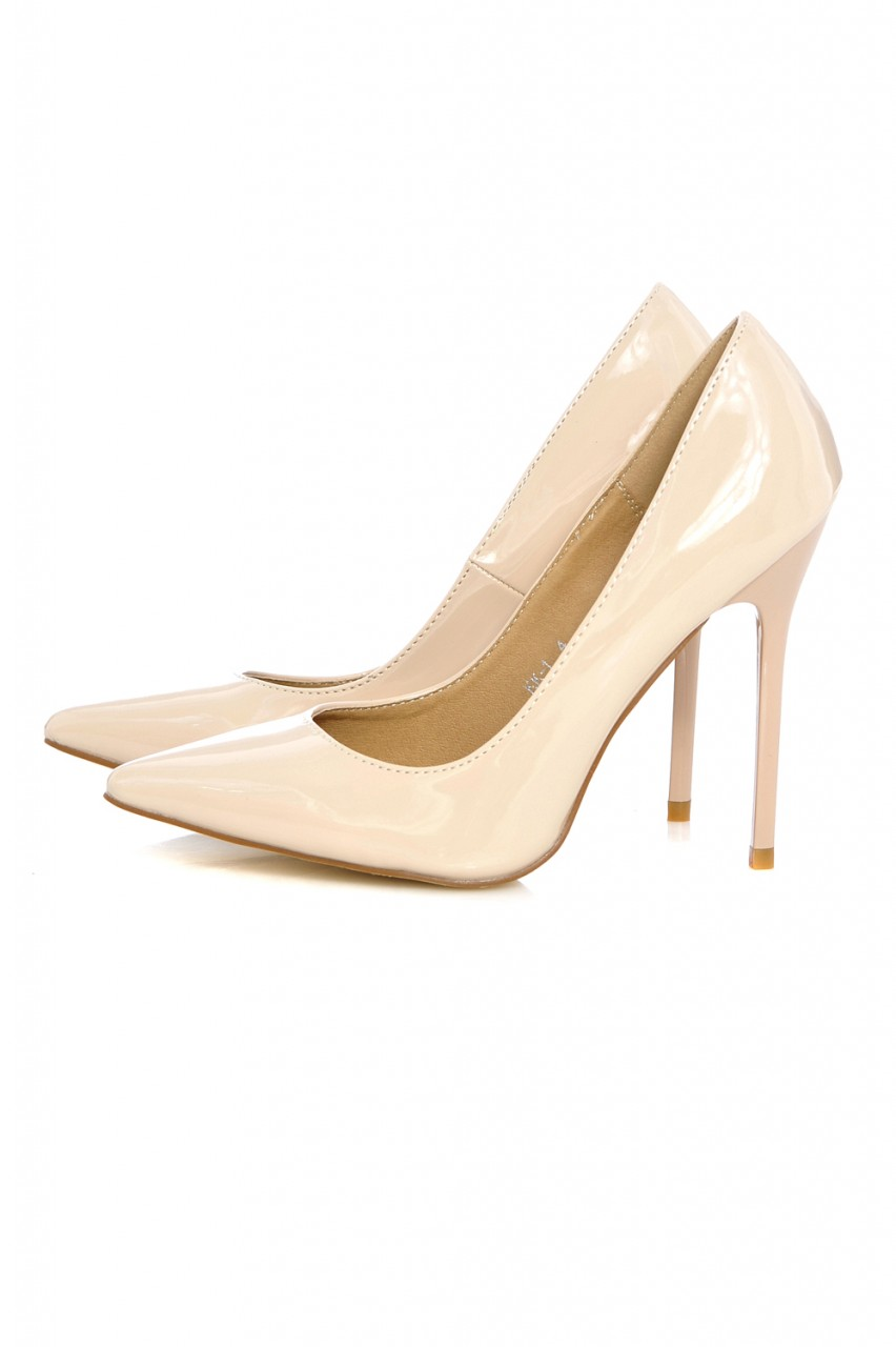 Court Plain Pointy Heeled Shoe