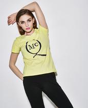 t-shirt,mcqueen tee,mcq