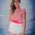White Denim High Rise Shorts | uoionline.com: Women's Clothing Boutique