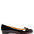 Vinodo patent-leather flats