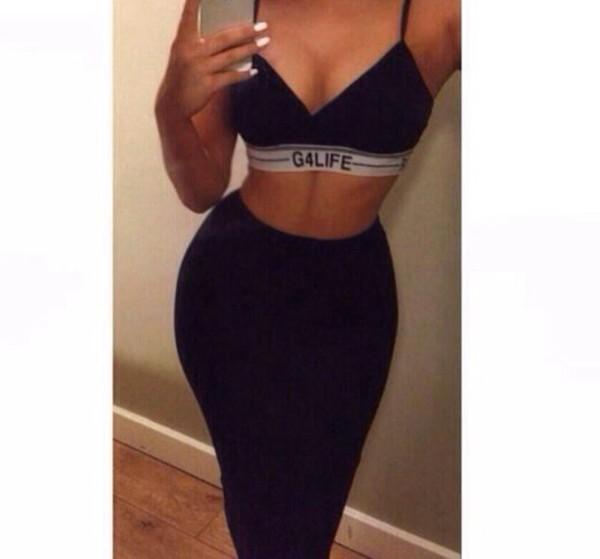 top blaxk bralette black g4life bra rihanna g4life bra skirt dope g4l tank top tumblr outfit
