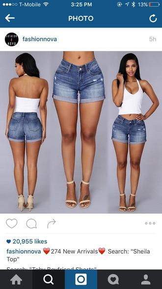 shorts toby boyfriend shorts blue jeans acid wash