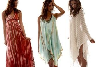 dress bohemian style beach dress floaty dress pale green summer dress leggings nail accessories