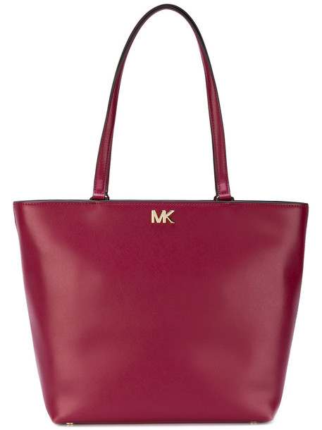 MICHAEL Michael Kors women leather red bag