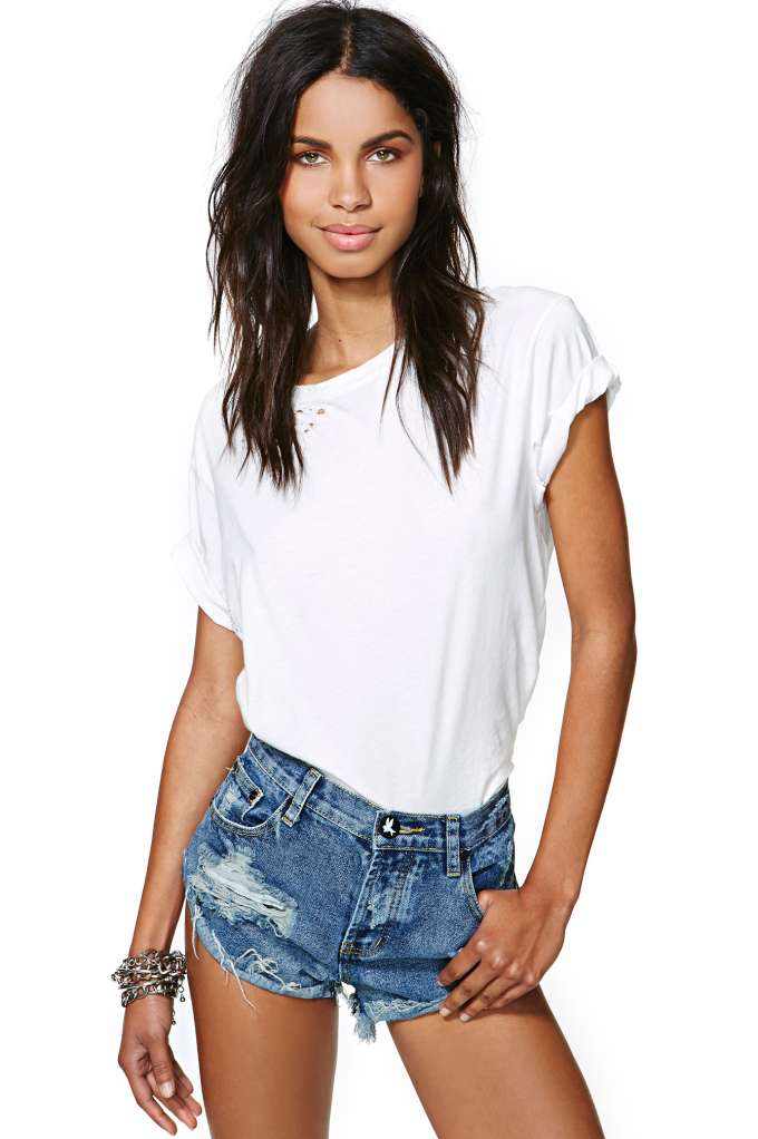 One Teaspoon Bandit Cutoff Shorts - Pharoah | Shop Shorts at Nasty Gal