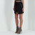 Wrap Mini Skirt - Black