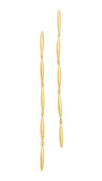 Gorjana Emma Drop Earrings - Gold