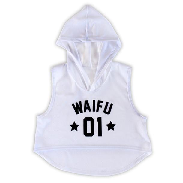 696de1891ac0ed top crop tops cropped hoodie anime waifu waifu crop top kawaii sporty otaku  mode