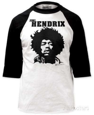 BB Jersey: Jimi Hendrix T-shirts at AllPosters.com