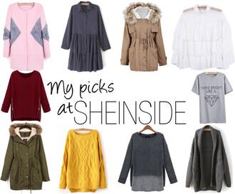 seams for a desire coat dress sweater t-shirt