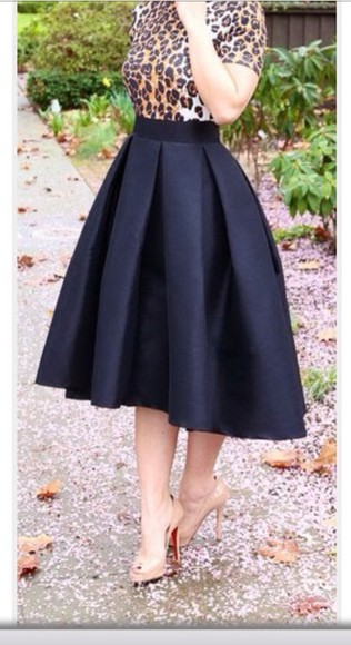 midi skirt black skirt cute skirts