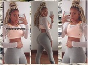 thecleopatralee,orange,top,mesh,girl,booty,babe,bum,leggings nike,nikes bra,blonde dreads,mesh top,instagram,leggings,nike leggings,workout leggings,nike sports bra,sportswear,sports bra,blonde hair,dreads,dreadlocks,cropped,cropped hoodie,african american,tumblr,fashion,high waisted,grey leggings,mesh crop tops,outfit,outfit idea