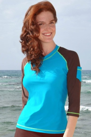 swimwear rash guard