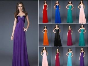 Formal Evening Long Gown Party Prom Ball Bridesmaid Dress Size6 8 10 12 14 16 18 | eBay