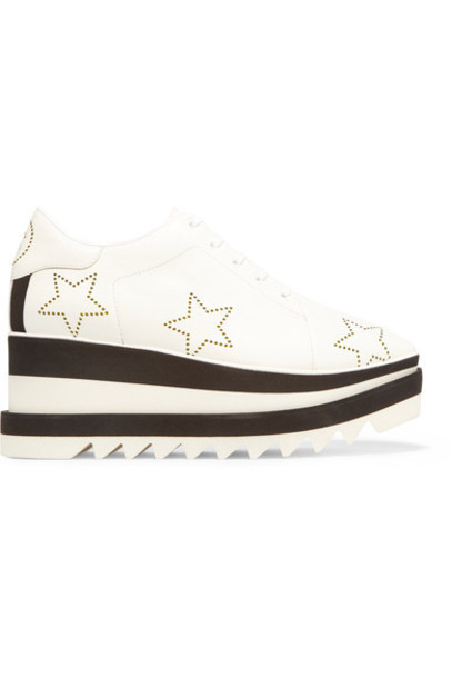 Stella McCartney leather white shoes