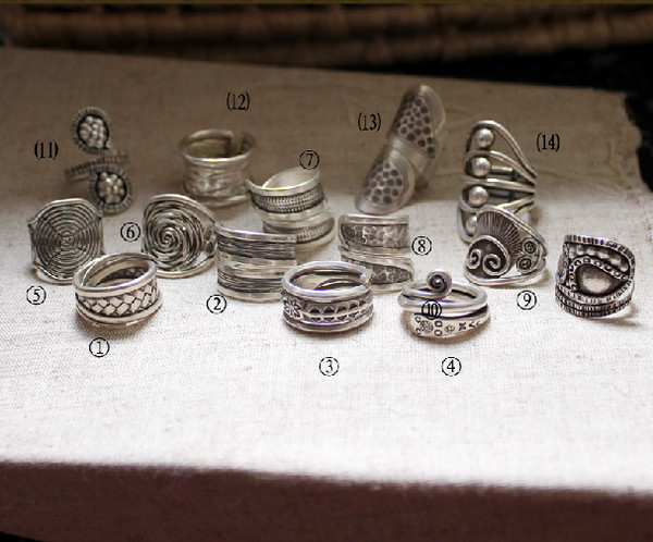 jewels handmade sterling silver rings