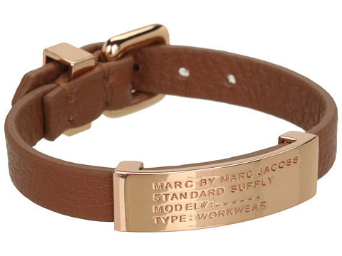 Marc by Marc Jacobs Standard Supply ID Bracelet Cinnamon Stick (Rose Gold) - Zappos Couture