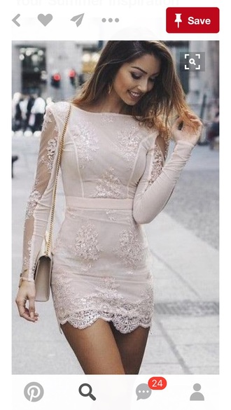 dress nude dress mini dress helpmefindthisdress imdesperate please help me find it ineedthisinmylife ibegyou i need this help lace dress tight i will love you
